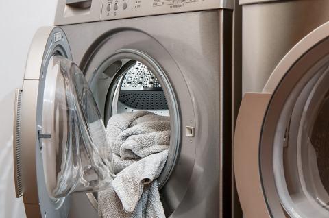 Daunedecke waschen