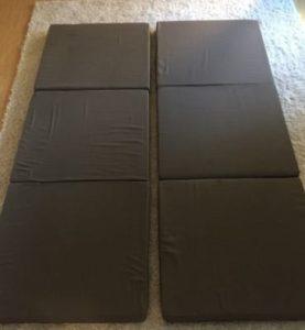 Klappmatratze für zwei doppelbett