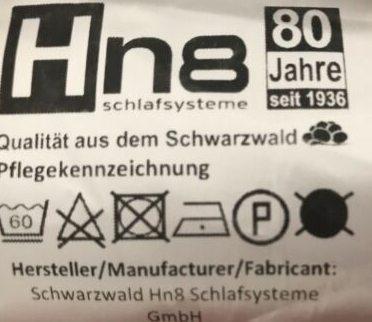 HN8 Schlafsystem Test